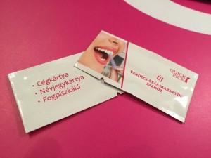 quick pick, quickpick, logós fogpiszkáló, műanyag, Lollipop Nyomda és reklámajándék