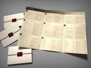 étlap, kreatív étlap, étlap tervezés, egyedi étlap