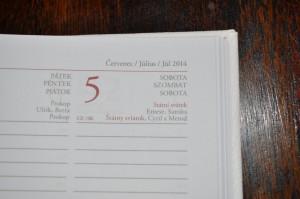 határidőnapló, naptár, napló, logózott naptár, éves napló