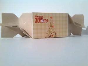 szaloncukor csomagolás, egyedi szaloncukor, karácsonyi dekoráció, reklámajándék, logós szaloncukor