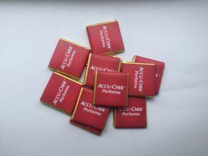 reklámcsoki, logós csoki, reklámédesség, logós csoki, céges csoki