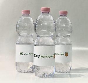 reklámvíz, logós víz, nyomda, tárgyaló, üzlei ajándék, logós reklámajándék